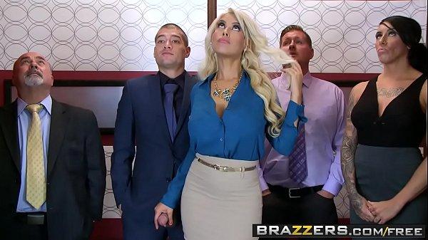 Brazzers - Big Tits at Work - Bridgette B Xander Corvus - Stuck In The Elevator