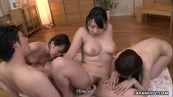Lucky dude experiences heavenly pleasures with three gorgeous Japanese nymphos