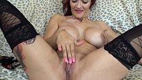 Mary Rider with a deep Anal Masturbation