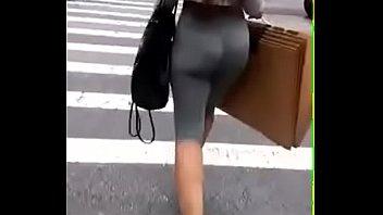 candid jiggly ass transparent leggings
