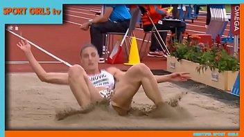 Ivana Spanovic - NEW VIDEO    Beautiful serbian Long Jumper