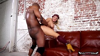Cali Carter In Her First Interracial Sex