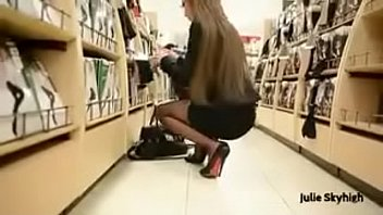 Best Belgian Mon Shopping with Buttplug Heels See pt2 at goddesheelsonline.co.uk