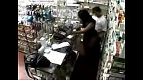 ADDICTED Cute Lady Lets Pharmacist Have Sex With her Behind the Counter for Prescription Medication (CCTV Footage)