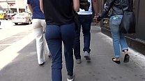 Nice Round Candid Ass