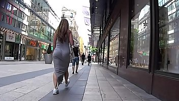 Candid White Girl Juicy Ass