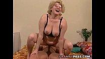 Muscular Young Guy Fucks A Fat Granny