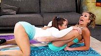 The wild lesbian personal trainer - Abigail Mac and Brett Rossi