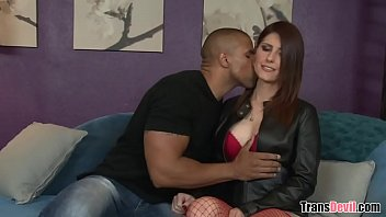 TS Amy Daly loves black cock