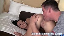 Tan Babe Sabrina Banks Gets Ass Spread and Licked for AAT! 7 min