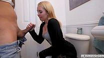 Stepmom Aaliyah Love gave stepson a hot blowjob 7 min