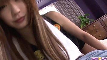 Sana Anzyu sensual POV cock sucking Asian special  - More at Slurpjp.com