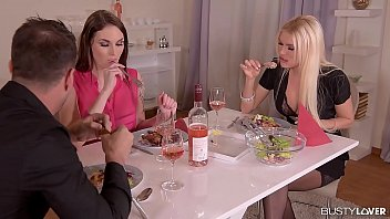 Marie Clarence invites Kitana Lure for a boyfriend threesome 32 min