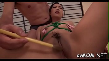 Curly pussy milf in act
