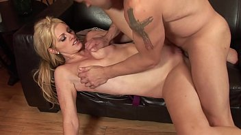 Cute blonde moans while dude licks her dripping wet cunt