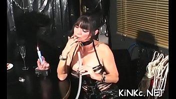 Whores love femdom sex act