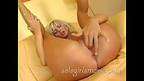 Cute young blonde Sandra Sanchez
