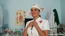 Big natural tits Valentina Rush is naughty nurse