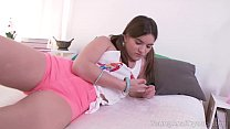 Young Anal Tryouts - Sweetie turns on a lad before making anal sex