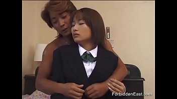 Japanese Teen Couple In Softcore Action