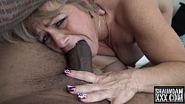 A MOUTH FULL OF BIG BLACK COCK