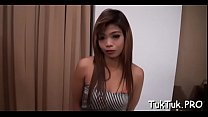 Sex-starved thai cutie gives her horny bawdy cleft to a stranger
