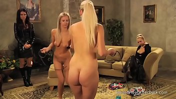 The Submissive: Whipping Each Other Over Mistresses Panties