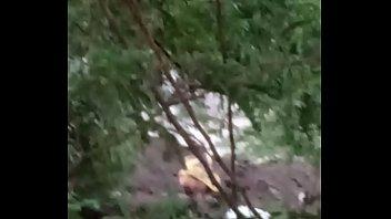 Vaghari aunty pee outdoor 2
