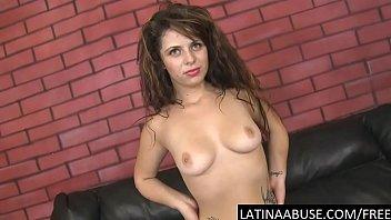 Sexy Manuela throat pounded hard