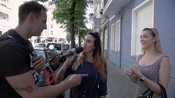 HITZEFREI Cute blonde finds random guy on street