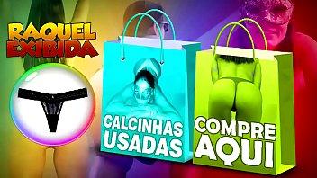 Raquel Exibida vende calcinhas usadas para todo o Brasil,mais de 400 homens já compraram,peça já a sua por 120 reais