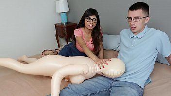 MIA KHALIFA - Nerdy Fan Gets To Lose His Virginity To The #1 Pornstar In The World 10 min