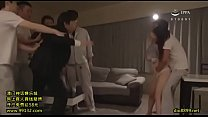 Asian big tits wife gangbanged infront of husband brutally