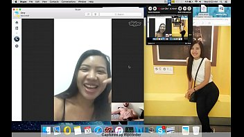 Thai asian girl dick flash Skype webcam Maleewan Ruamphon