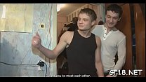 After getting undressed by this guy before her boyfriend, cutie takes his schlong in hand and begins jerking it.