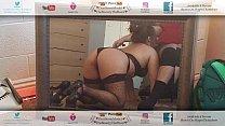 Latina Las Vegas Escort Blowjob In Black Heels Stockings & Thong POV