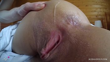 Teen Lick Ass and Cum on Body