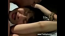 Bound Asian To Suck Cock Then Gets Fucked -