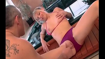 Blonde girl screams with shlong working harm in her pussy