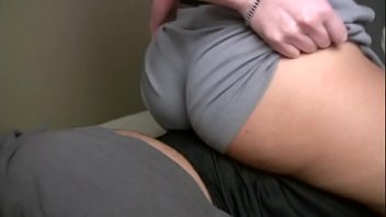Luscious babe with gorgeous ass grinds on cock