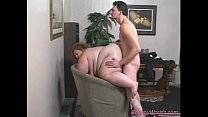 Fat babe gets hard fucked sex