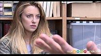Cute Blonde Teen Shoplifter Kate Kenzi Rough Fuck From Horny Security Guard