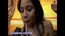 Latina Ho Sasha Deepthroats Two Gringos