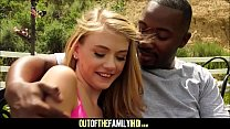 Cute And Tiny Blonde Teen Step Daughter Hannah Hays Fucked By Her Black Step Dad