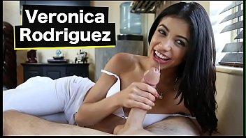 BANGBROS - Petite Latina Veronica Rodriguez Goes From The Beach Onto A Big Dick