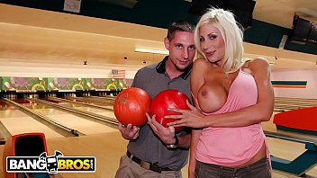 BANGBROS - Amateur Guy Gets To Go On Date With Big Tits MILF Puma Swede
