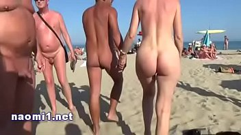 public beach cap agde by naomi slut 4 min