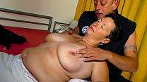 XXX OMAS - Big tits German chubby mature gets screwed