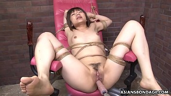 Tied up Japanese pornstar Shiori Natsumi smashed with sex toys