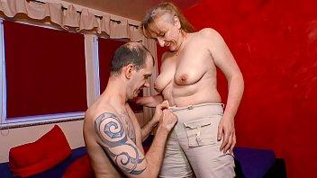 XXX OMAS - Naughty mature German granny gets screwed